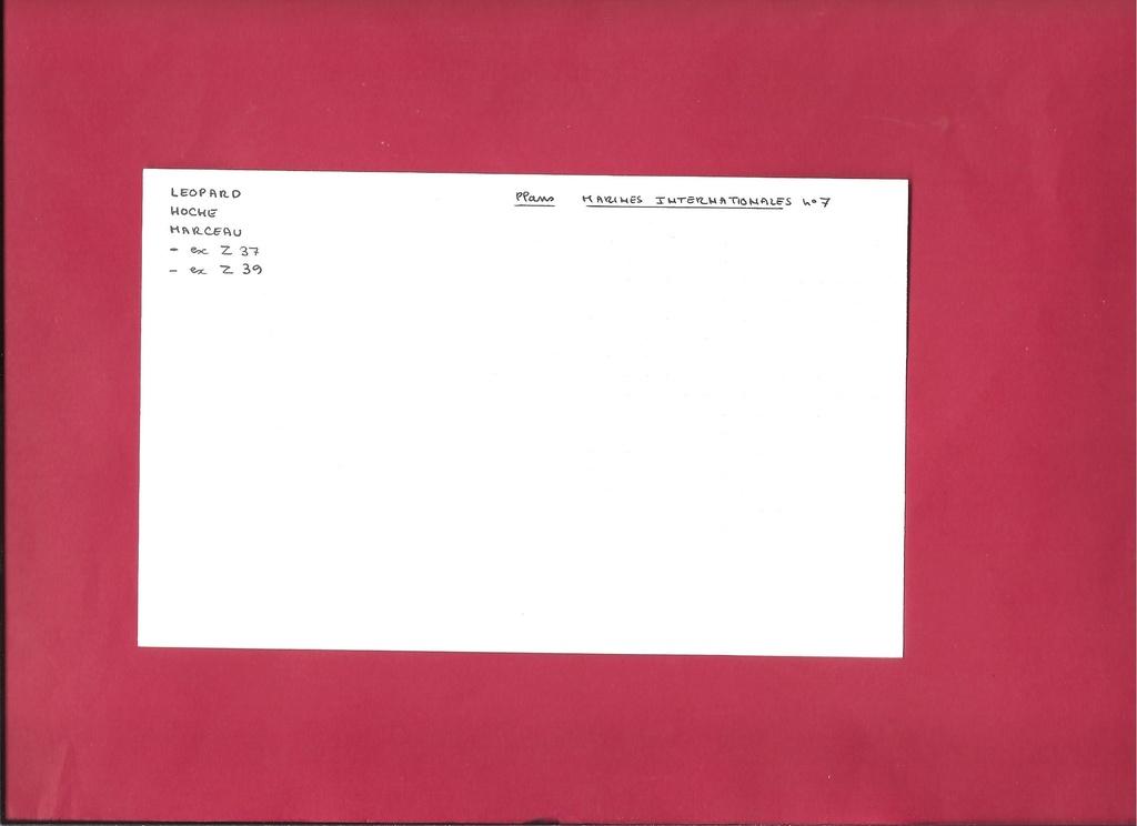 Escorteur MARCEAU 1/400ème Docume16