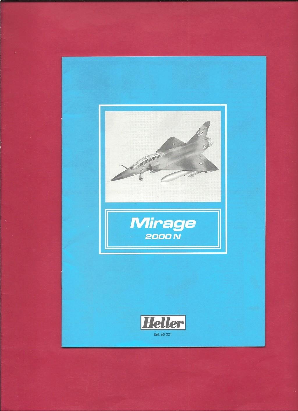DASSAULT MIRAGE 2000 N 1/72ème Réf 60321 Notice Hell1044