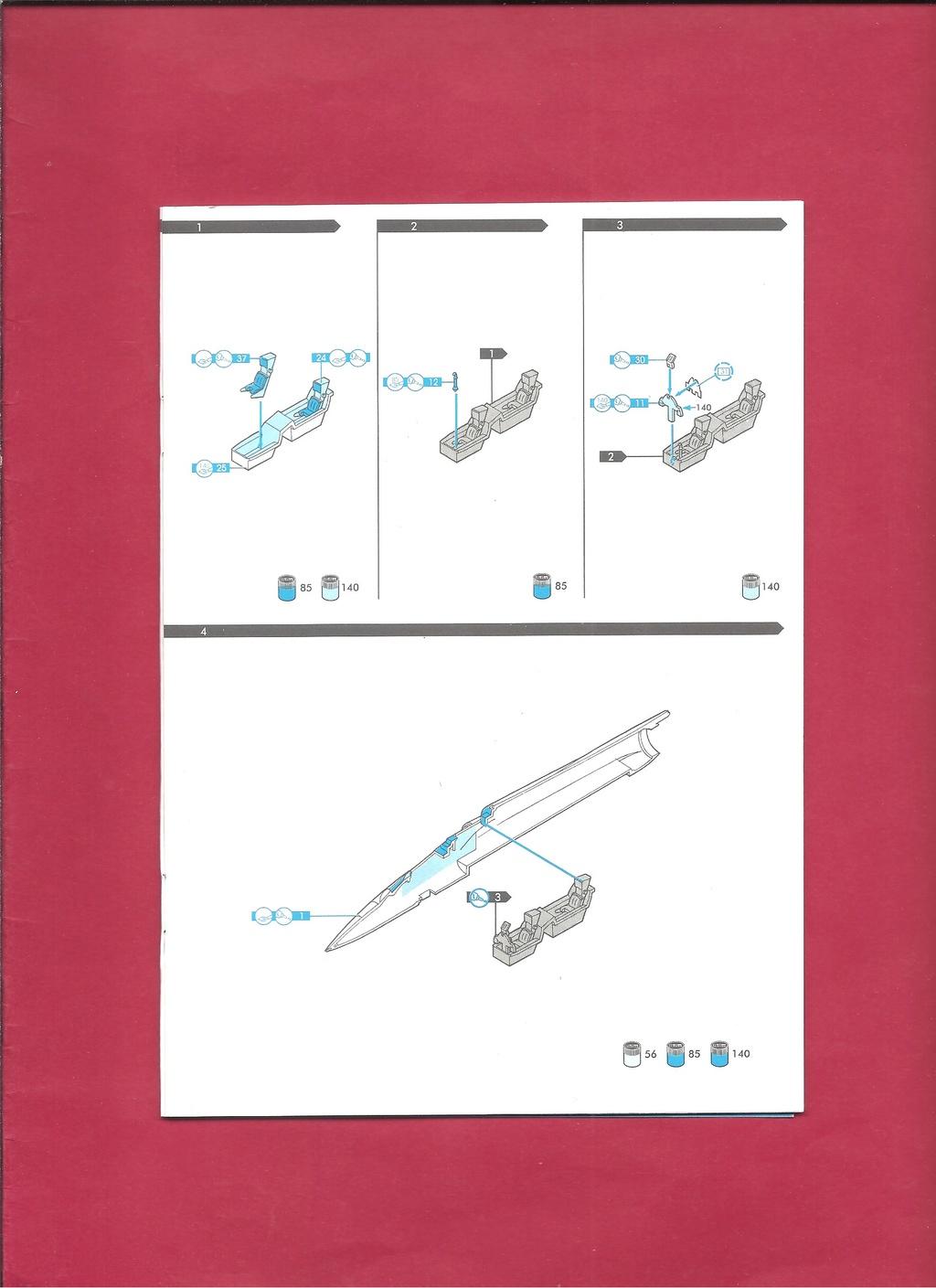 DASSAULT MIRAGE 2000 N 1/72ème Réf 60321 Notice Hell1045
