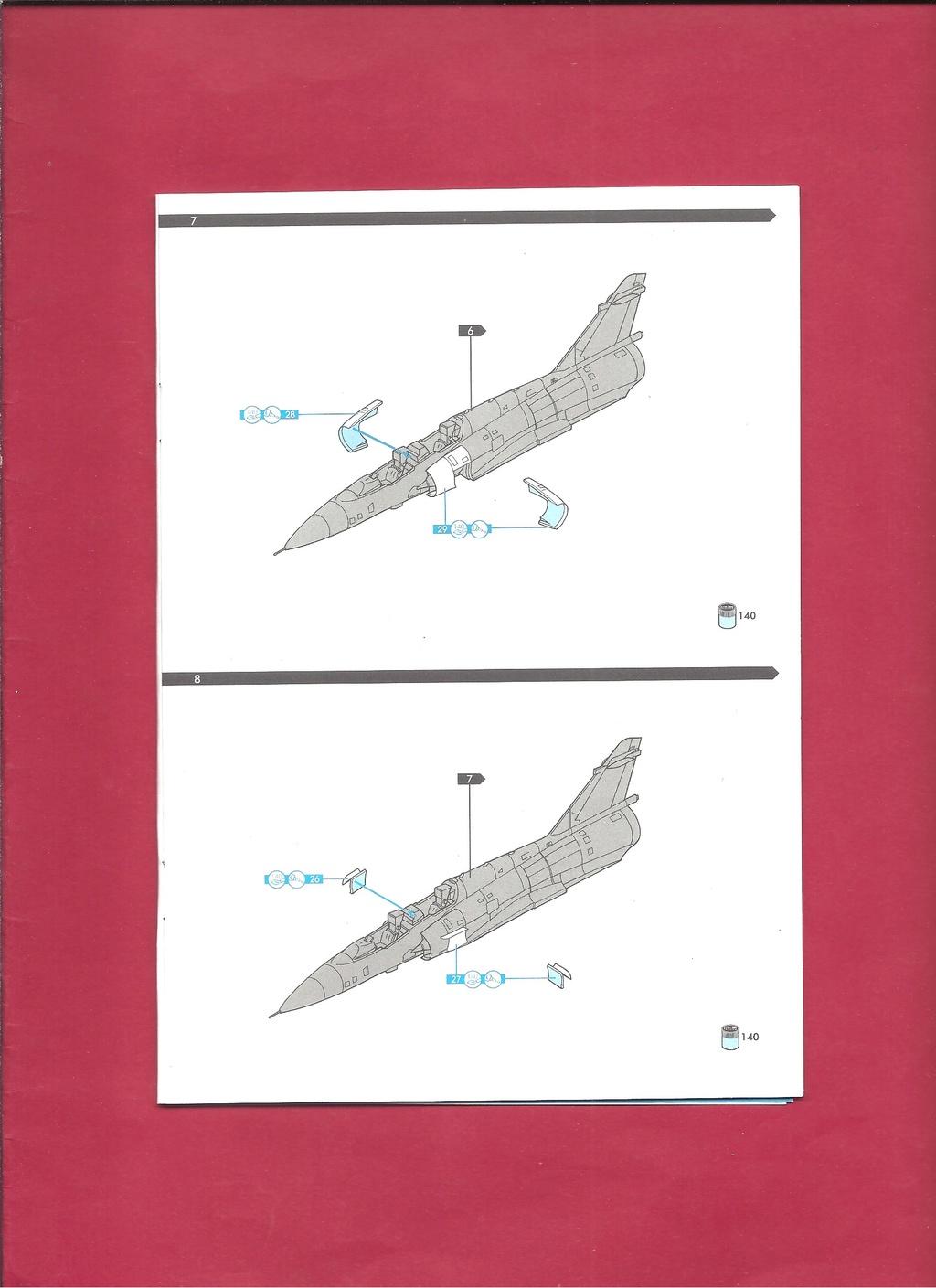 DASSAULT MIRAGE 2000 N 1/72ème Réf 60321 Notice Hell1047