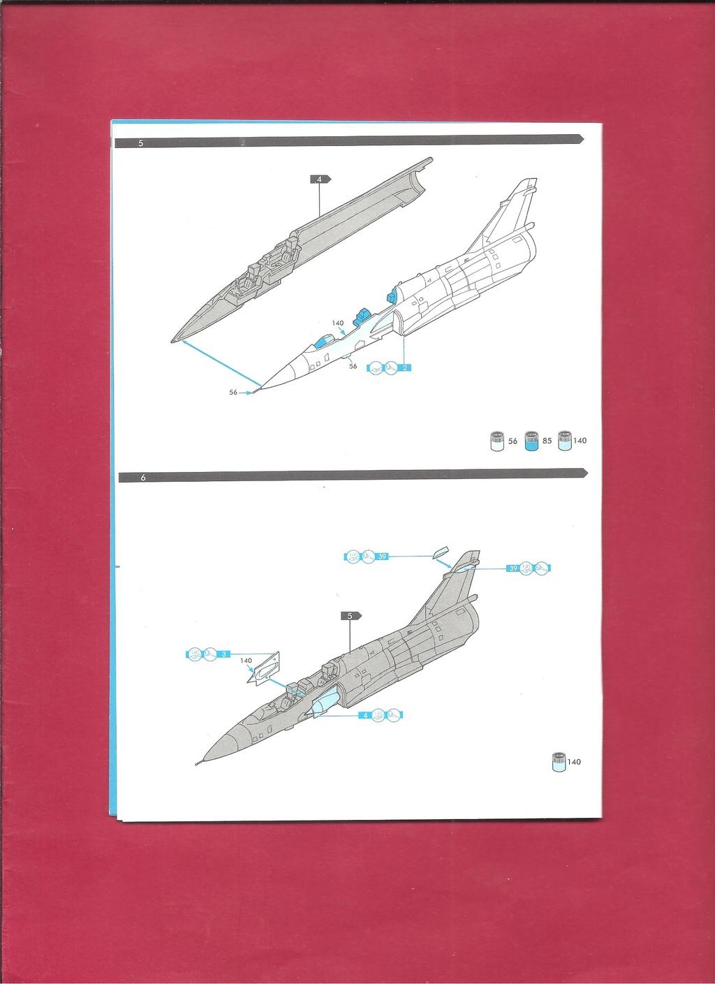 DASSAULT MIRAGE 2000 N 1/72ème Réf 60321 Notice Hell1048