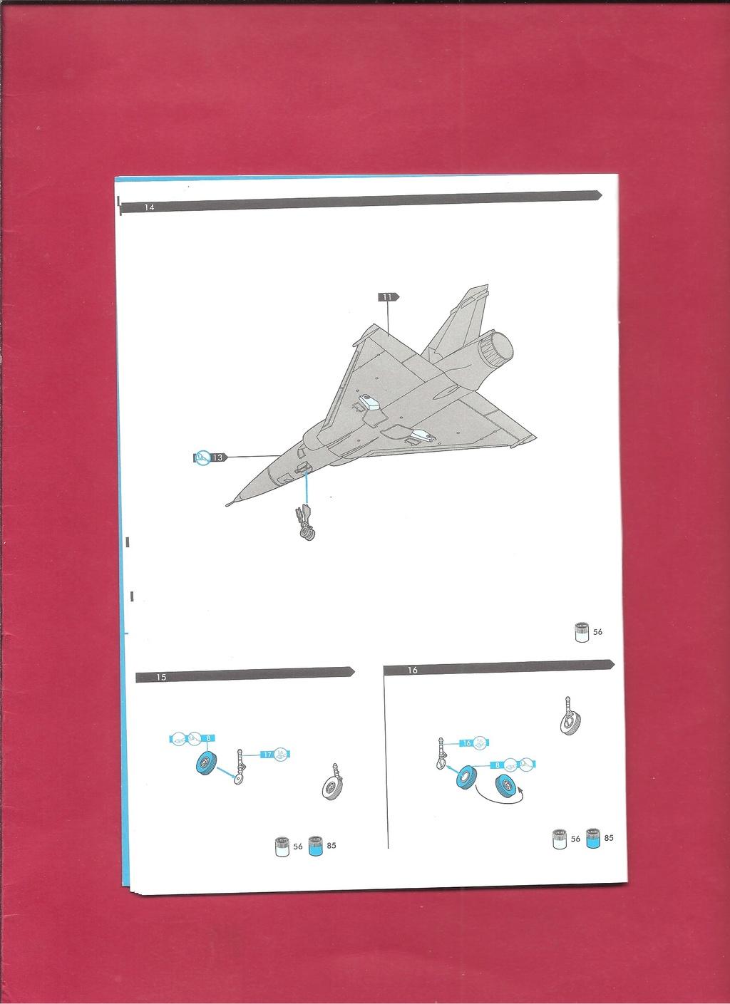 DASSAULT MIRAGE 2000 N 1/72ème Réf 60321 Notice Hell1050