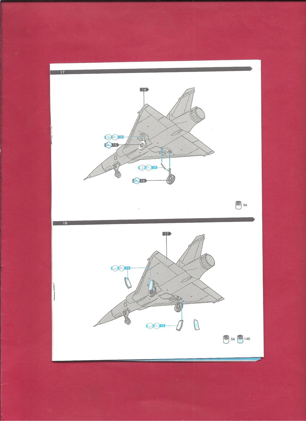 DASSAULT MIRAGE 2000 N 1/72ème Réf 60321 Notice Hell1053