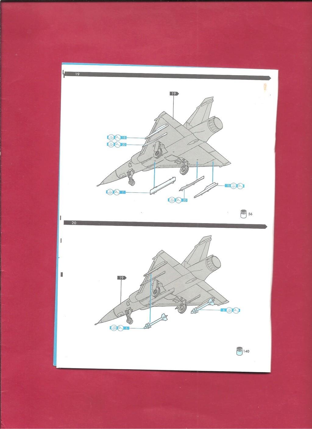 DASSAULT MIRAGE 2000 N 1/72ème Réf 60321 Notice Hell1054