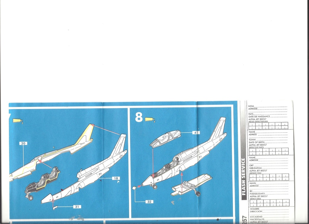 Dasault Breguet Dornier Alphajet, 1/72, Heller Helle766