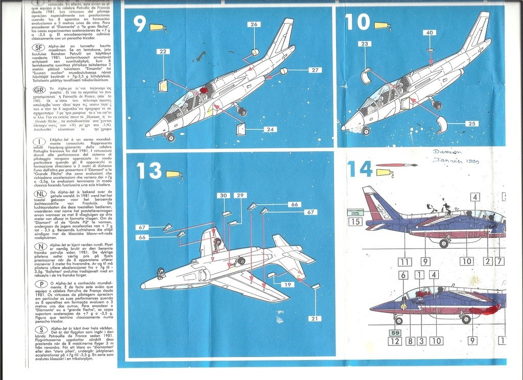 Dasault Breguet Dornier Alphajet, 1/72, Heller Helle767