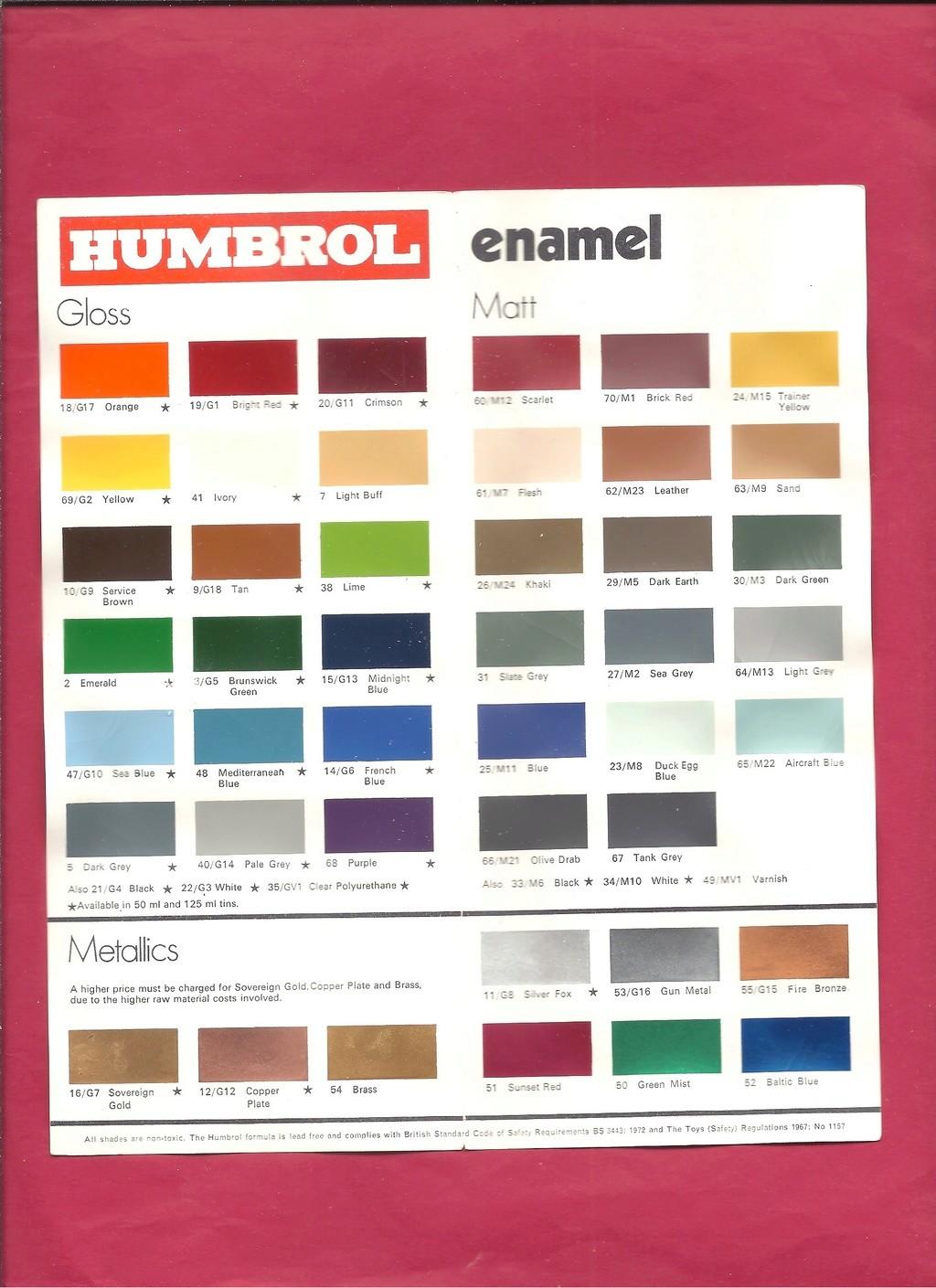 [HUMBROL 1972] Catalogue 1972 Humbro57