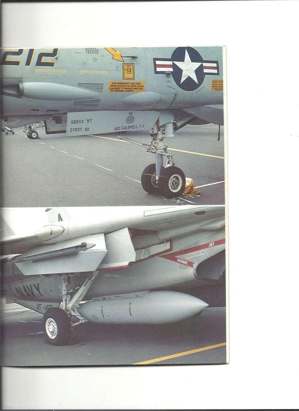 Renseignements sur les couleurs décoration missiles Phoenix, Sparrow, Sidewinder Numyr247