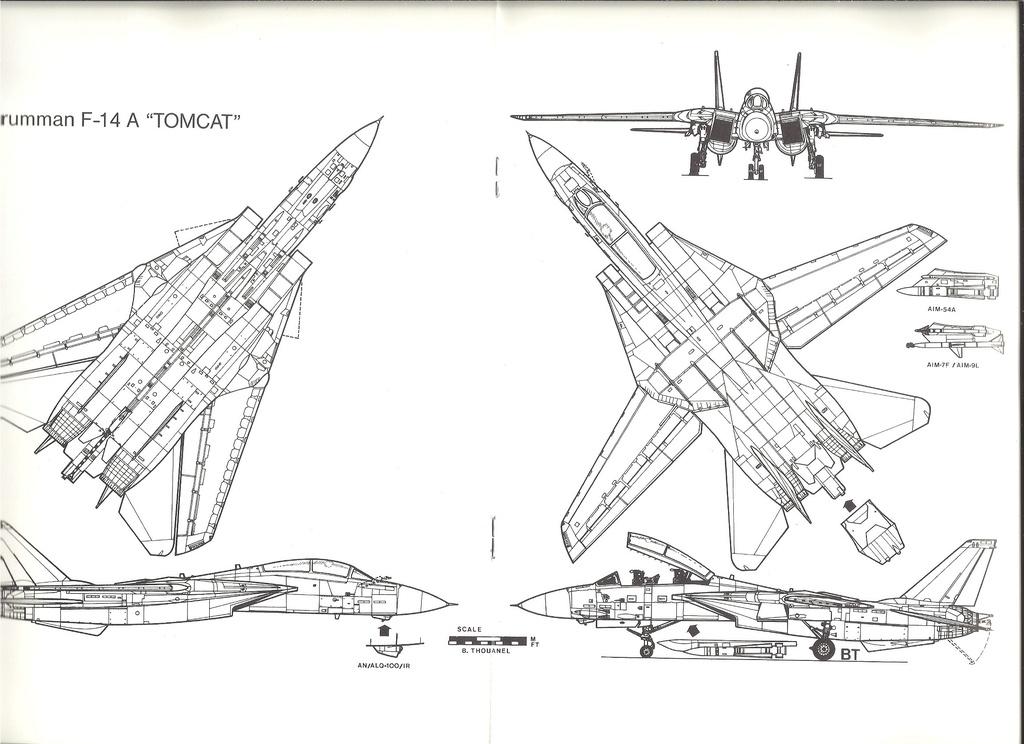 Renseignements sur les couleurs décoration missiles Phoenix, Sparrow, Sidewinder Numyr248