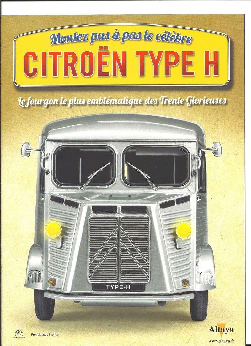 Collection CITROEN Type H au 1/8ème chez ALTAYA Numyr284