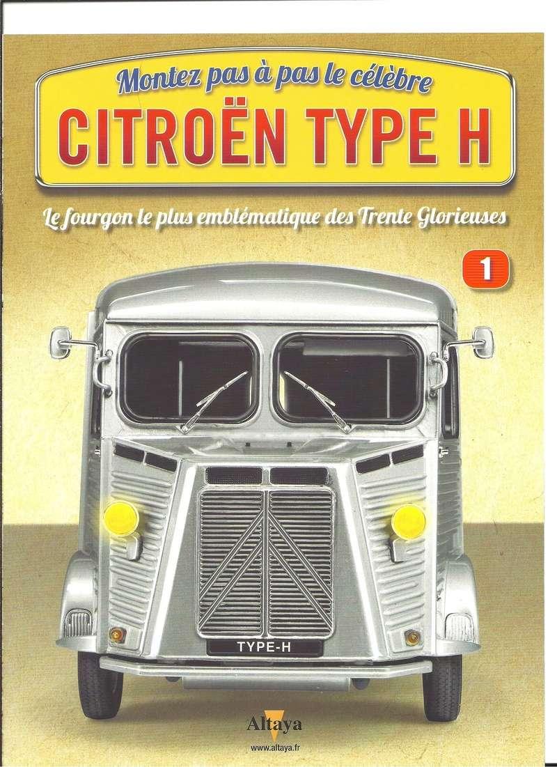 Collection CITROEN Type H au 1/8ème chez ALTAYA Numyr286