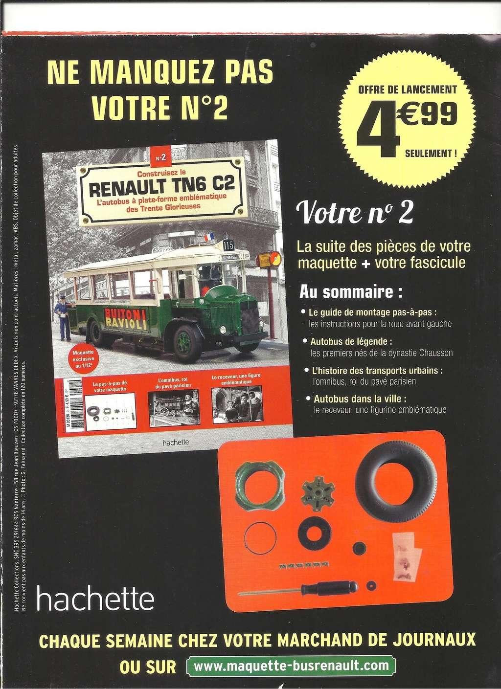 RENAULT TN6 C2 au 1/12ème collection de chez HACHETTE  Numyr288