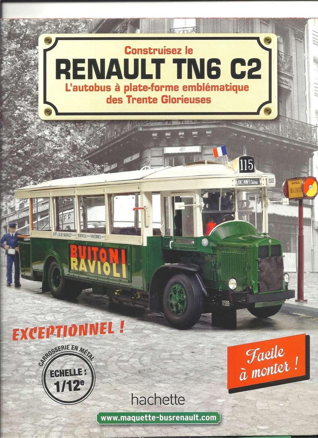 RENAULT TN6 C2 au 1/12ème collection de chez HACHETTE  Numyr289