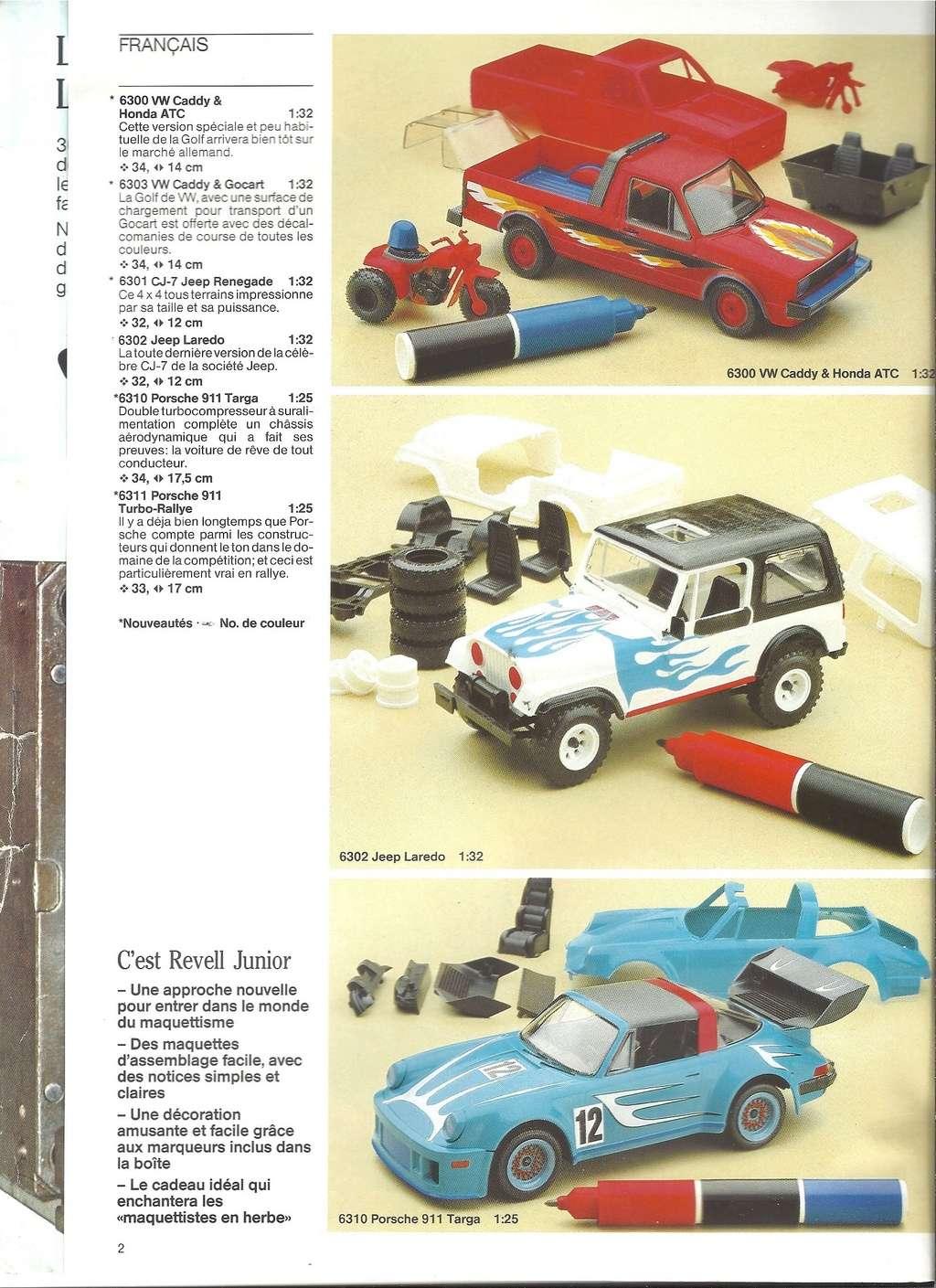 1984 - [REVELL 1984] Catalogue 1984  Revel122