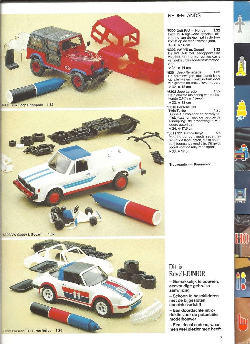 1984 - [REVELL 1984] Catalogue 1984  Revel123