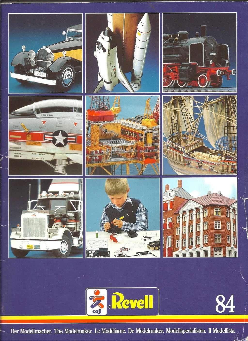1984 - [REVELL 1984] Catalogue 1984  Revel129