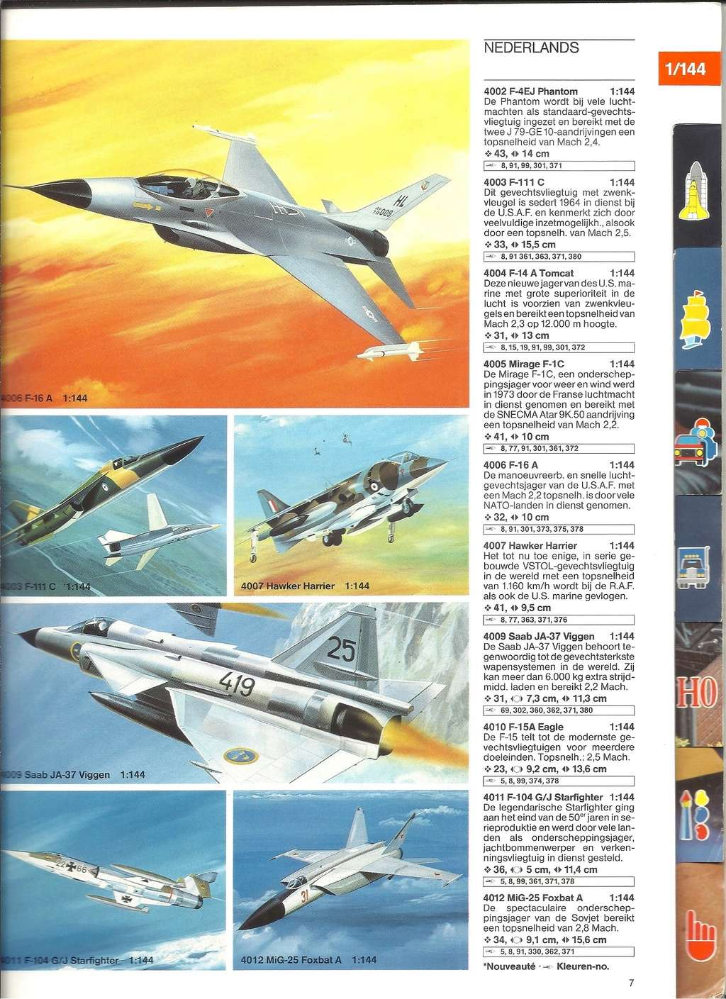 1984 - [REVELL 1984] Catalogue 1984  Revel131