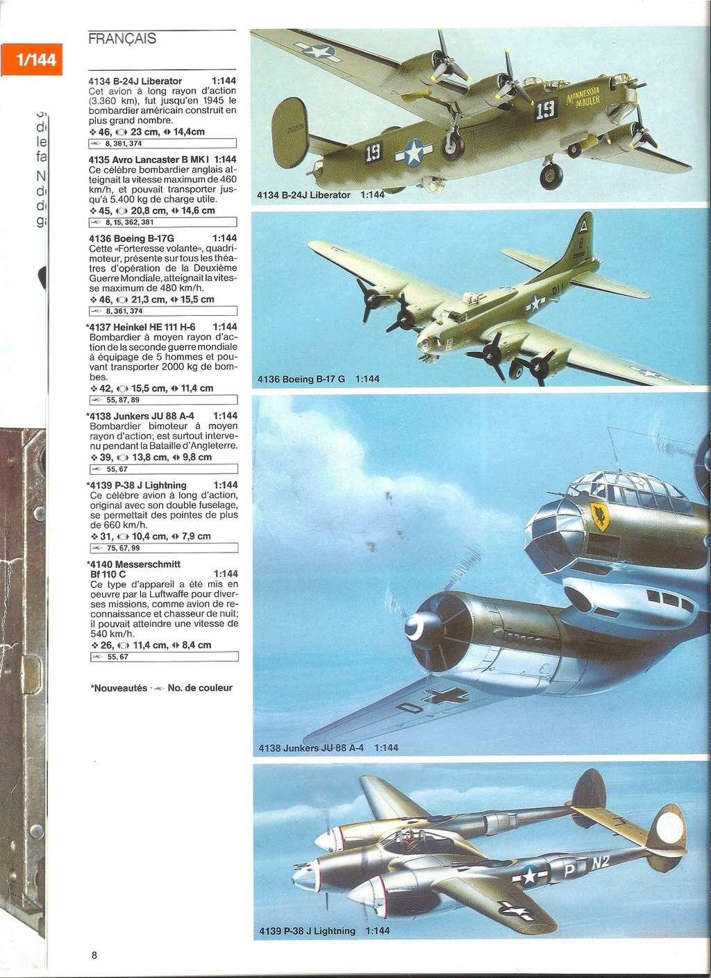 1984 - [REVELL 1984] Catalogue 1984  Revel132