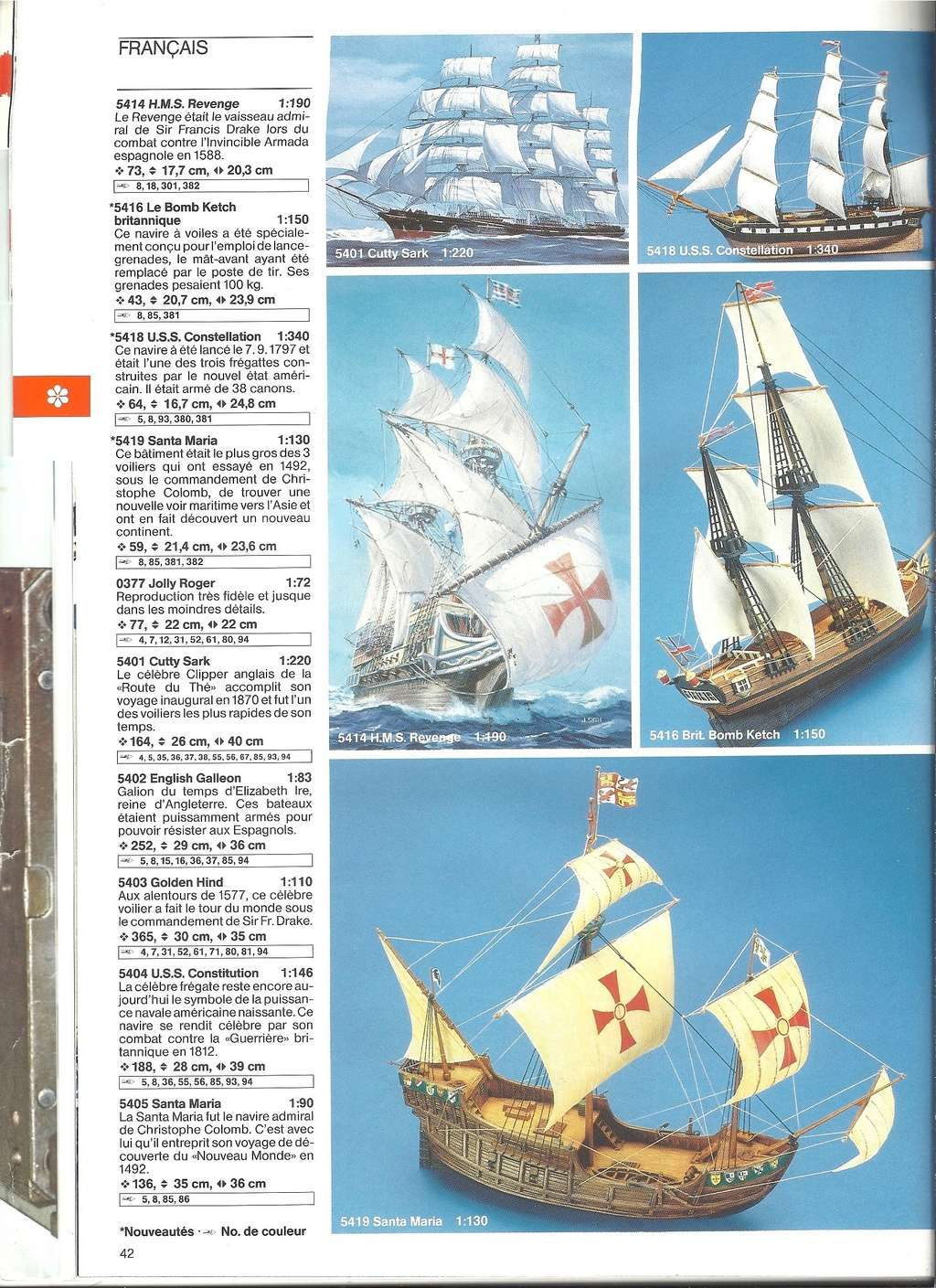 1984 - [REVELL 1984] Catalogue 1984  Revel164