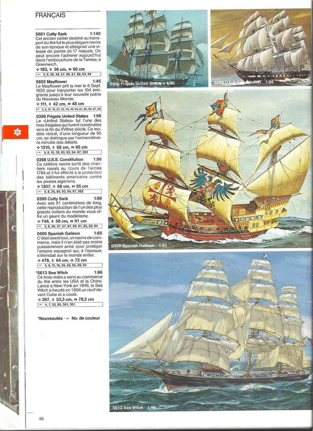 1984 - [REVELL 1984] Catalogue 1984  Revel170