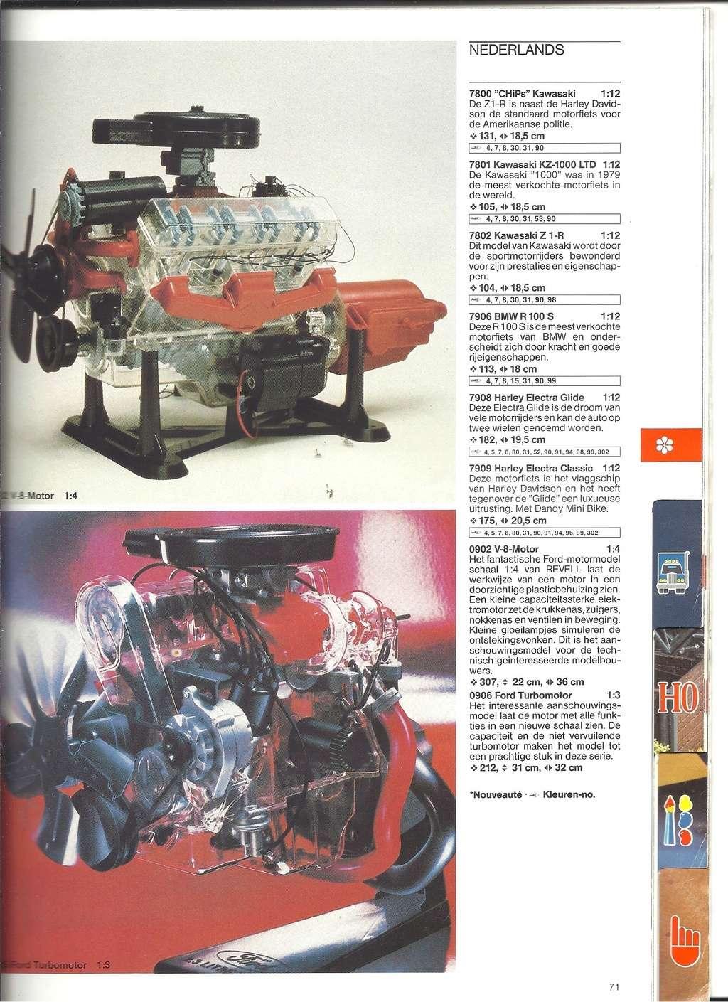 1984 - [REVELL 1984] Catalogue 1984  Revel195