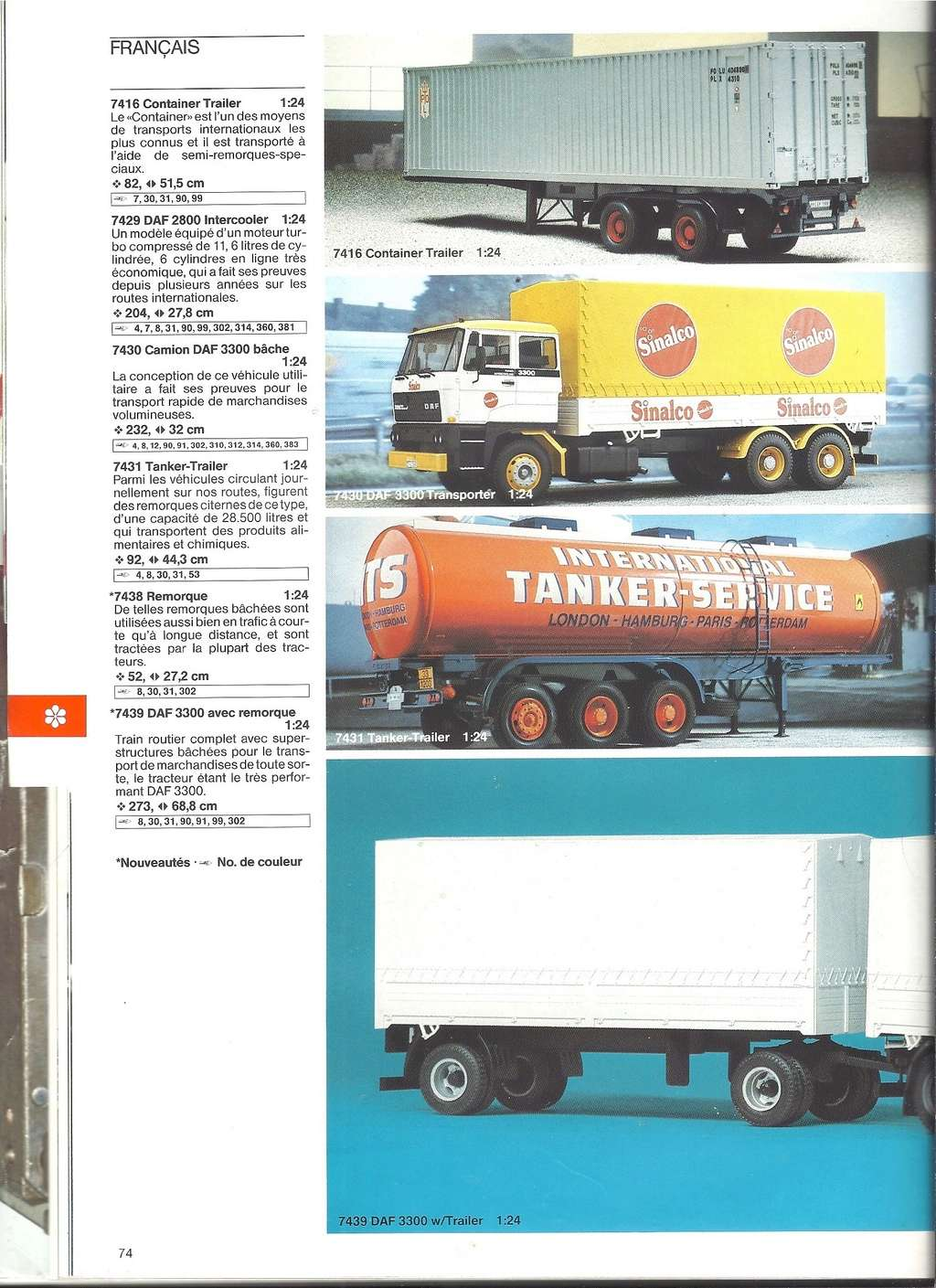 1984 - [REVELL 1984] Catalogue 1984  Revel198