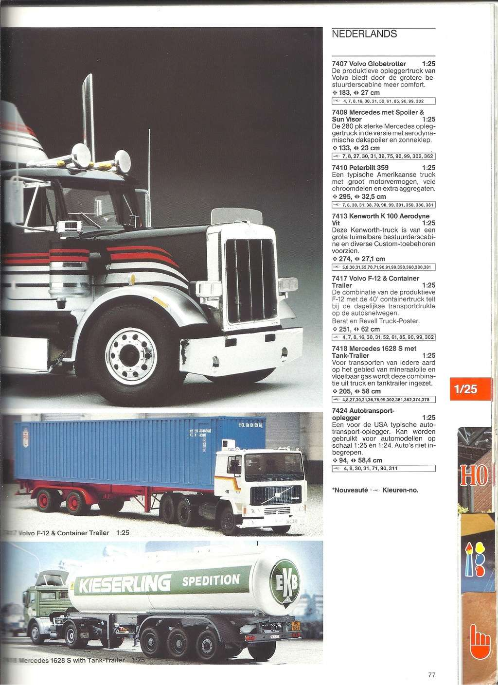 1984 - [REVELL 1984] Catalogue 1984  Revel201