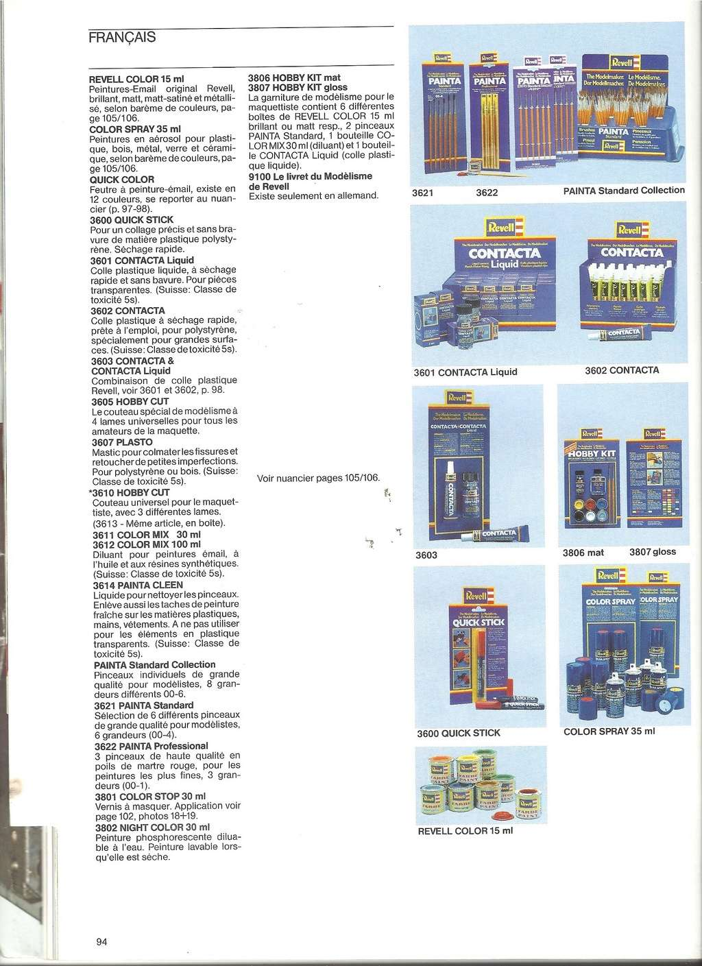 1984 - [REVELL 1984] Catalogue 1984  Revel214