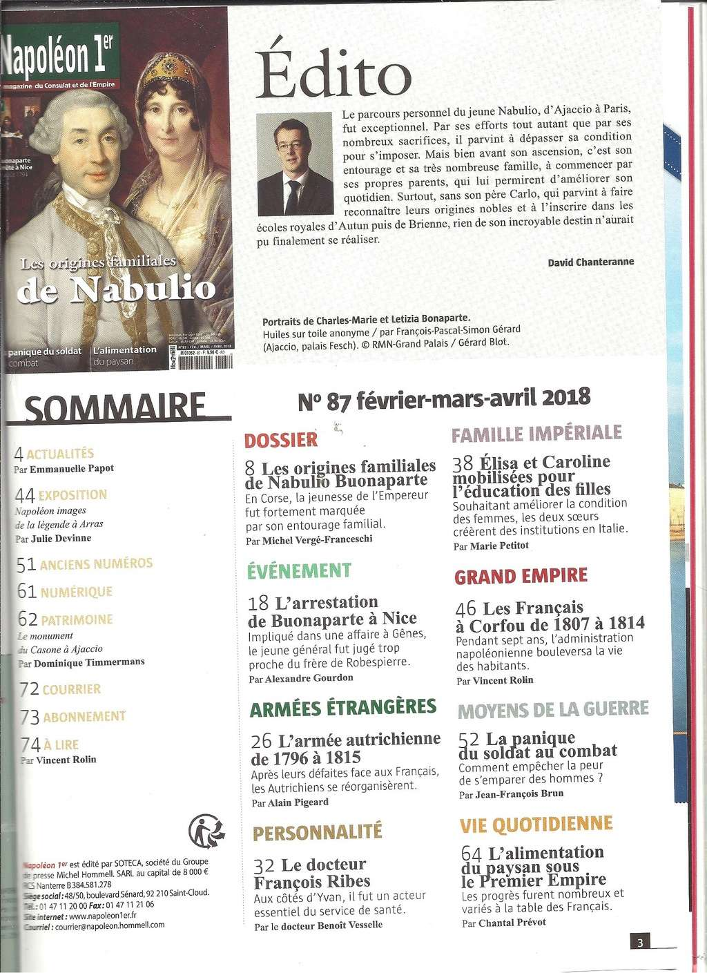 Revues MARS 2018 Revue134