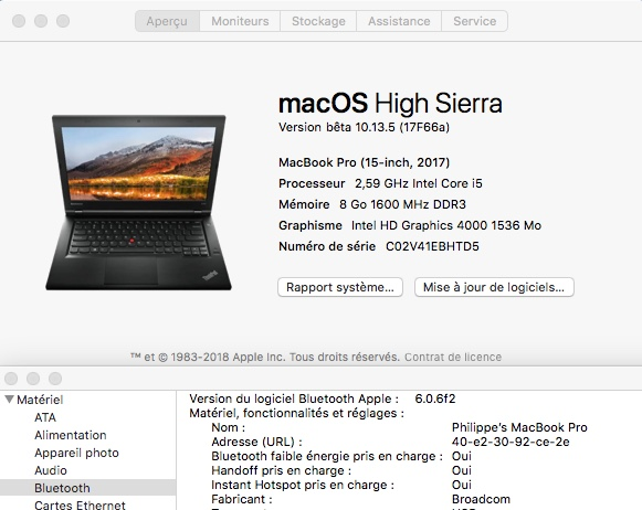 macOS High Sierra et macOS   Sierra HP Probook 4530S, 4440S, 4540S, 6460B, 6570B, 8460P, 8470p, 6470B,2570P, 9470M (UEFI) - Page 15 1119