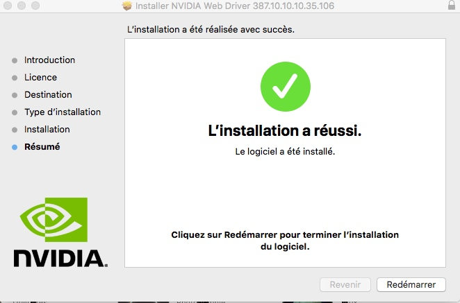 Mise a jour macOS High Sierra 10.13.5 (17F77) 1144