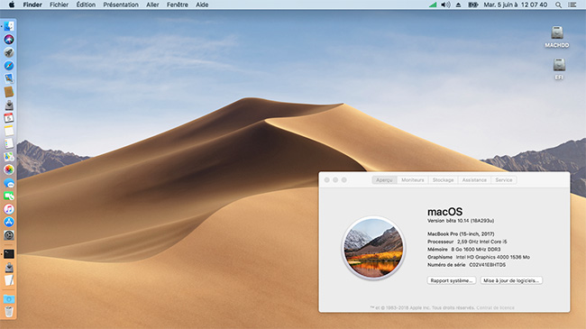 macOS Mojave 10.14 .Beta (Beta1, Beta2, Beta3, Beta4, Beta5, Beta6 . . .) 1149