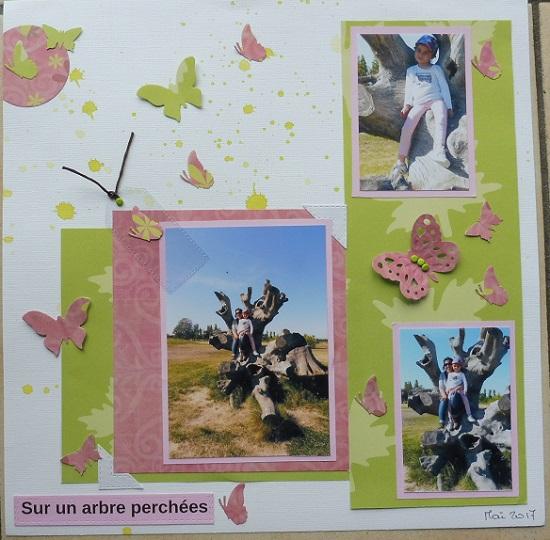Galerie de réalisations des Fleurs de scrap P1010014