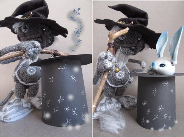 Dolls et Cie : Quand un robot rencontre un lapin - Page 2 Magie_10