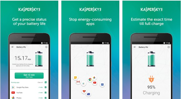 Android:  Kaspersky Battery Life: Saver & Booster 1.7.4.1231 124