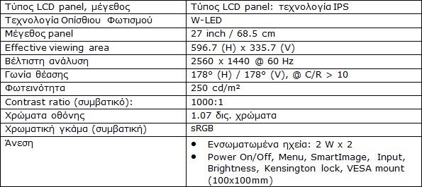 H MMD παρουσιάζει τη νέα QHD 27 ιντσών οθόνη Philips 272B8QJEB για την ενίσχυση της παραγωγικότητας 155