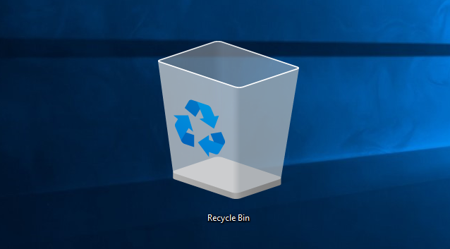 "Windows 10: Πώς να επαναφέρετε το εικονίδιο ""Κάδος Ανακύκλωσης"" Change10"
