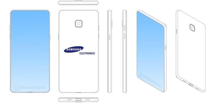 """Η Samsung ετοιμάζει smartphone με """"notch"""" στην κορυφή της οθόνης; Samsun36"""