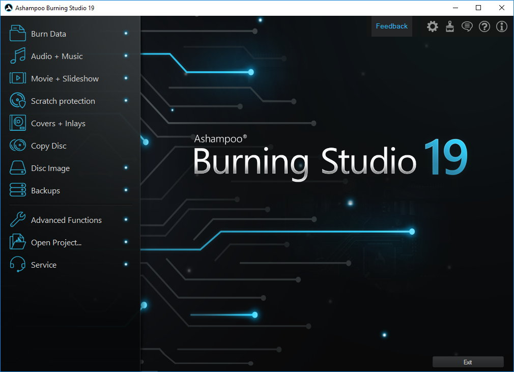 Ashampoo Burning Studio 19 (Review) Scr-as16