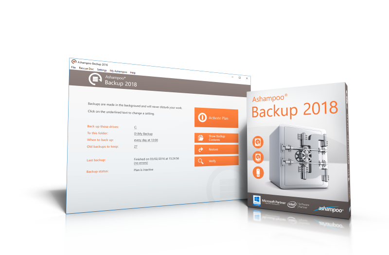 Ashampoo  Backup 2018 (Review) - (Δωρεάν Download) Submit10