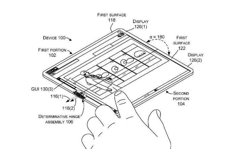 Δίπλωμα ευρεσιτεχνίας δείχνει ένα Surface Phone που μπορεί να γίνει laptop  This-i11