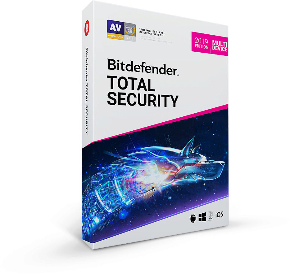 Bitdefender Total Security 2019 (Review) Ts201910