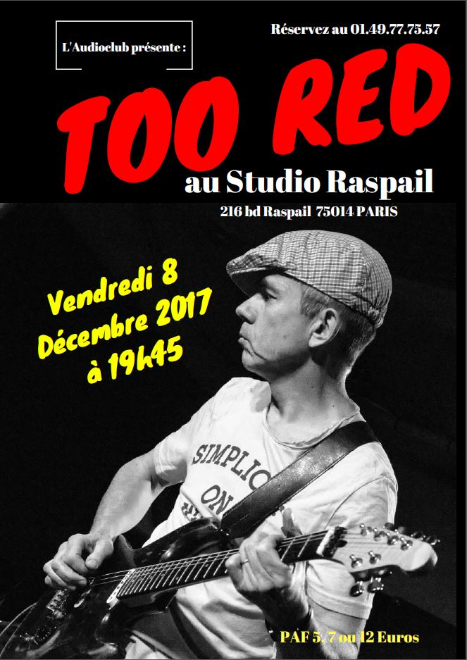 Too Red en One Man Band à Paris Too_re10