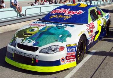 Chevy Monte-Carlo 2001 #5 Terry Labonte Monster inc.  5monst10