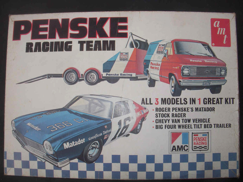 Kits Hauler Nascar / Racing 74-amc10