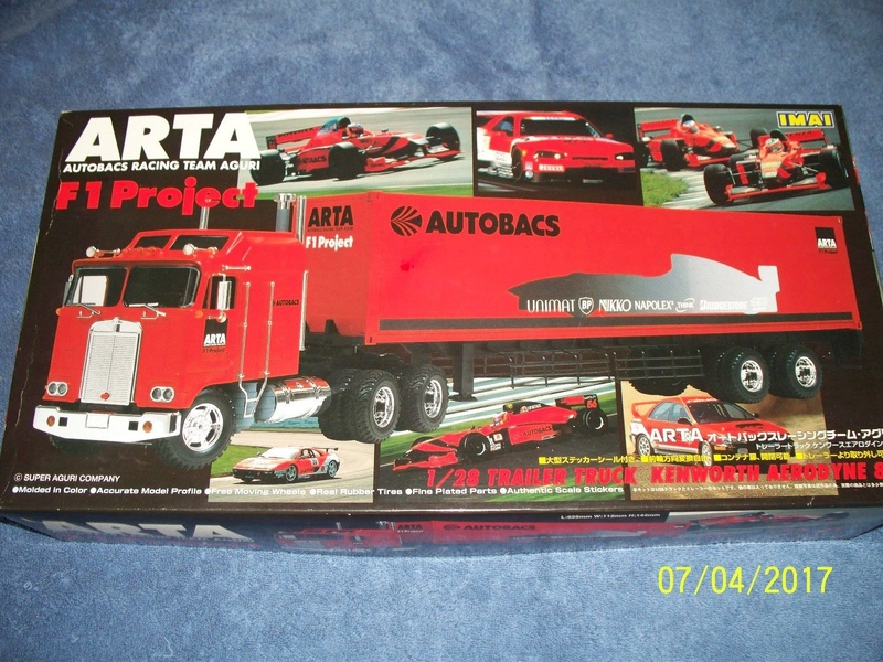 Kits Hauler Nascar / Racing 8011