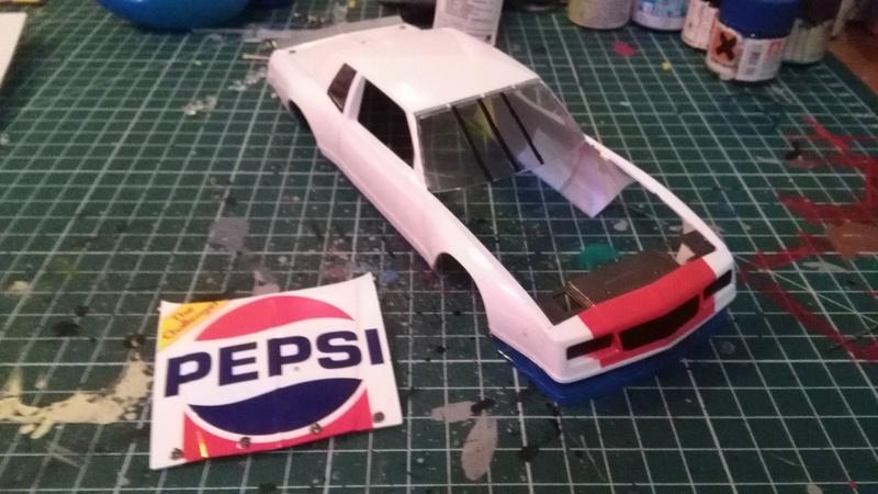 Chevy Monte-Carlo 1983 #11 Darrell Waltrip Pepsi  Img_2037