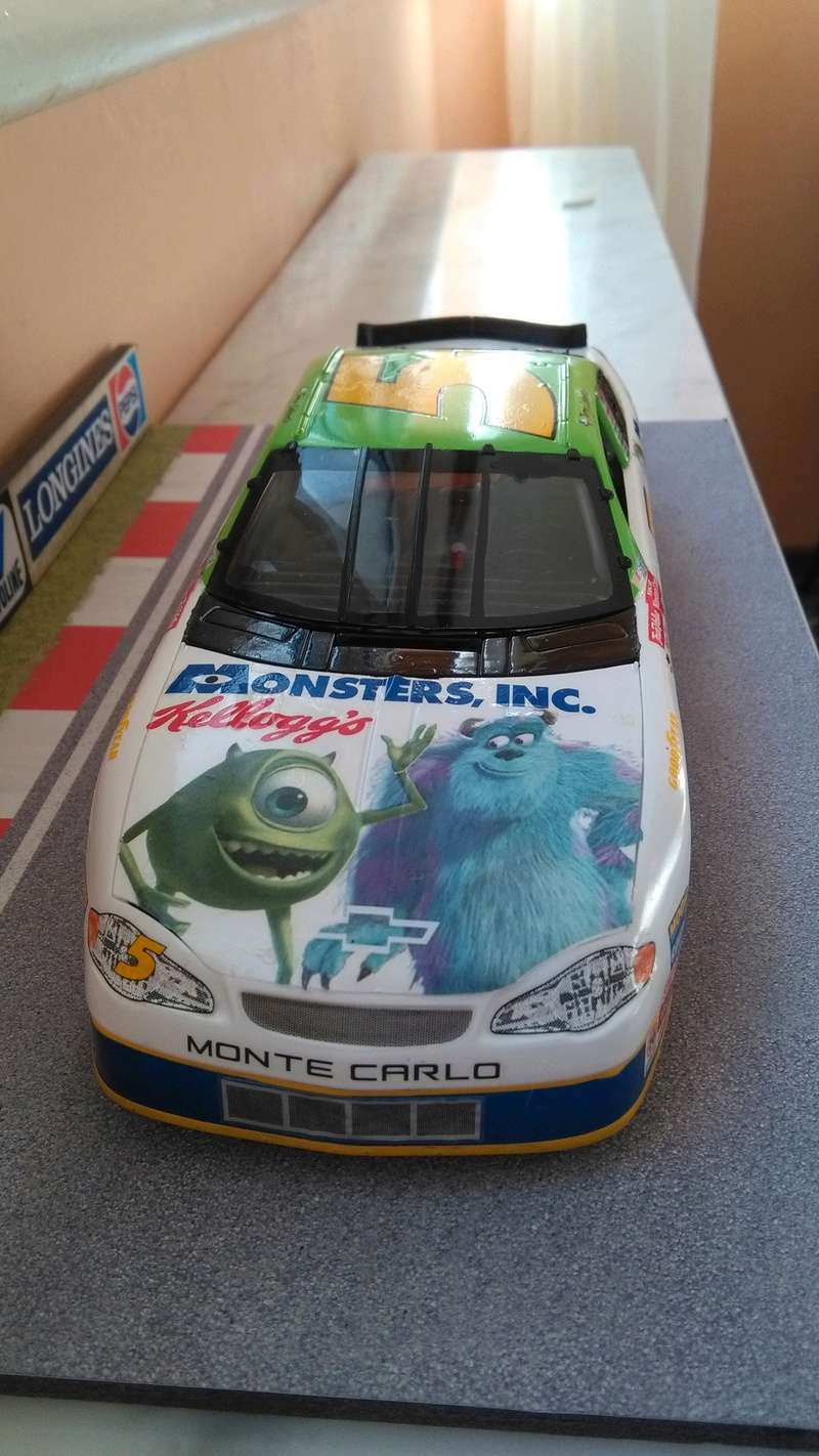 Chevy Monte-Carlo 2001 #5 Terry Labonte Monster inc.  Img_2068