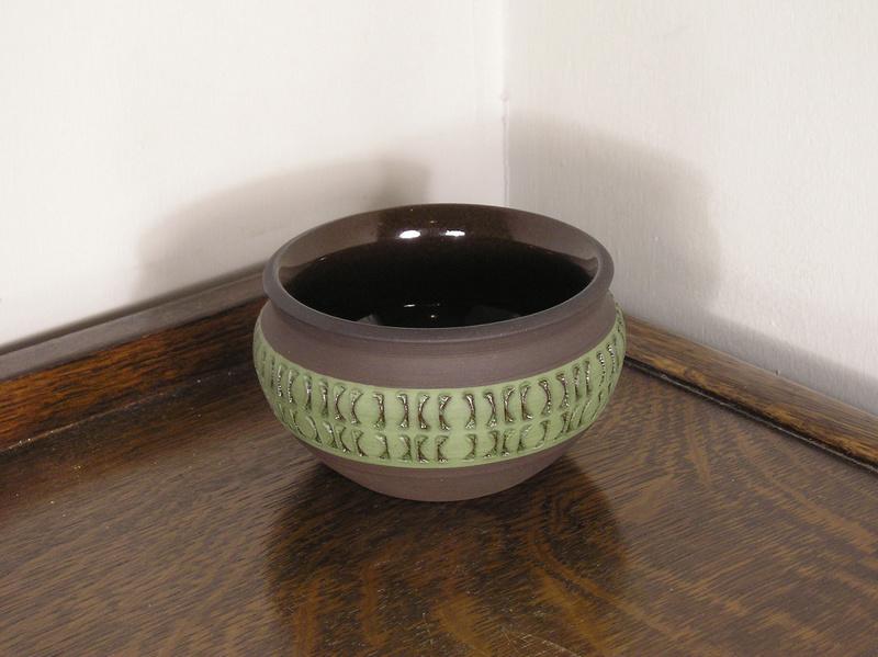 Scandinavian studio pottery bowl - alingsås keramik  _bowl10