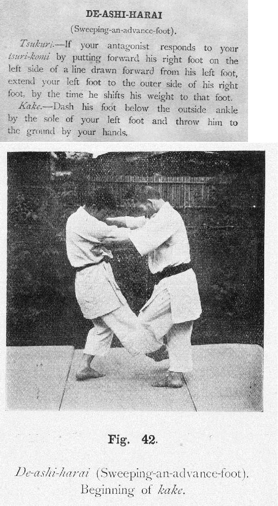 Canon of Judo - Mifune book (de ashi barai) Arimas10
